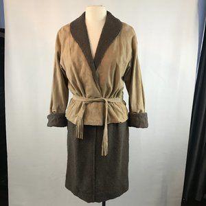 Bonnie Cashin Leather Jacket and Skirt Set, 1960's